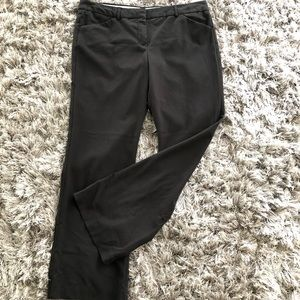 NORMA KAMALI Black Trousers Pants Flat Front